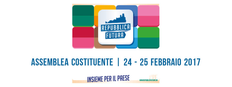 Repubblica Futura, oggi l'Assemblea costituente