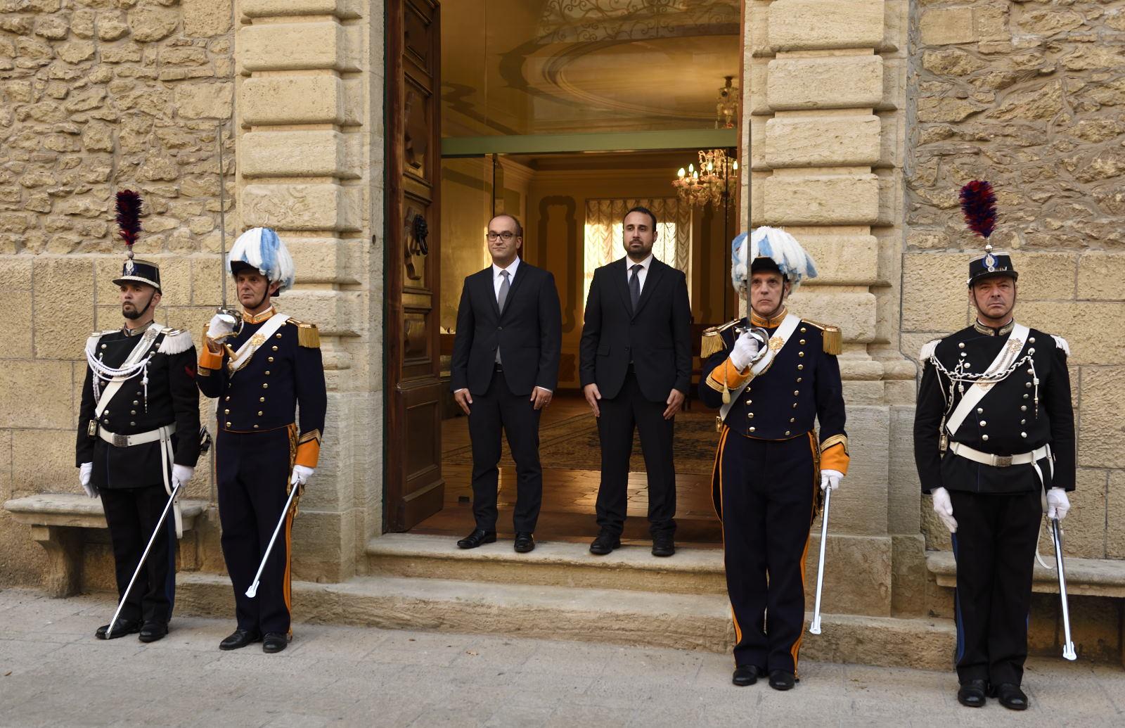 Il Consiglio nomina i nuovi Reggenti: Matteo Fiorini e Enrico Carattoni