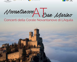 """Il """"Coro Novantanove"""" da L'Aquila a San Marino"""