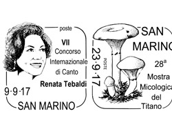 Filatelia: nuovi annulli speciali per gli eventi di San Marino