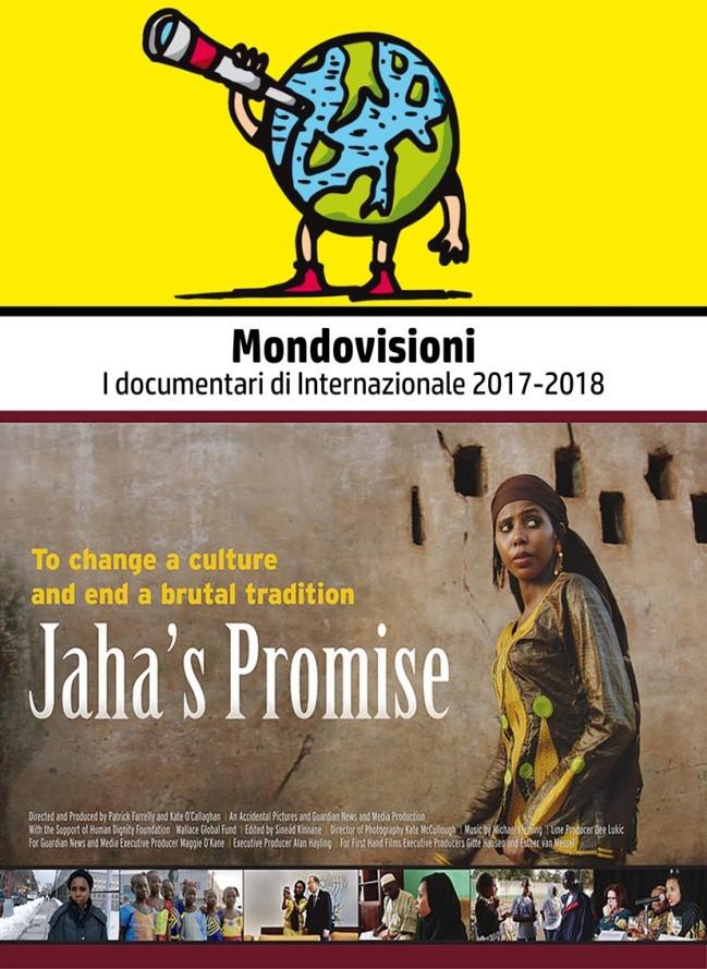 Per la rassegna Mondovisioni: Jaha's promise