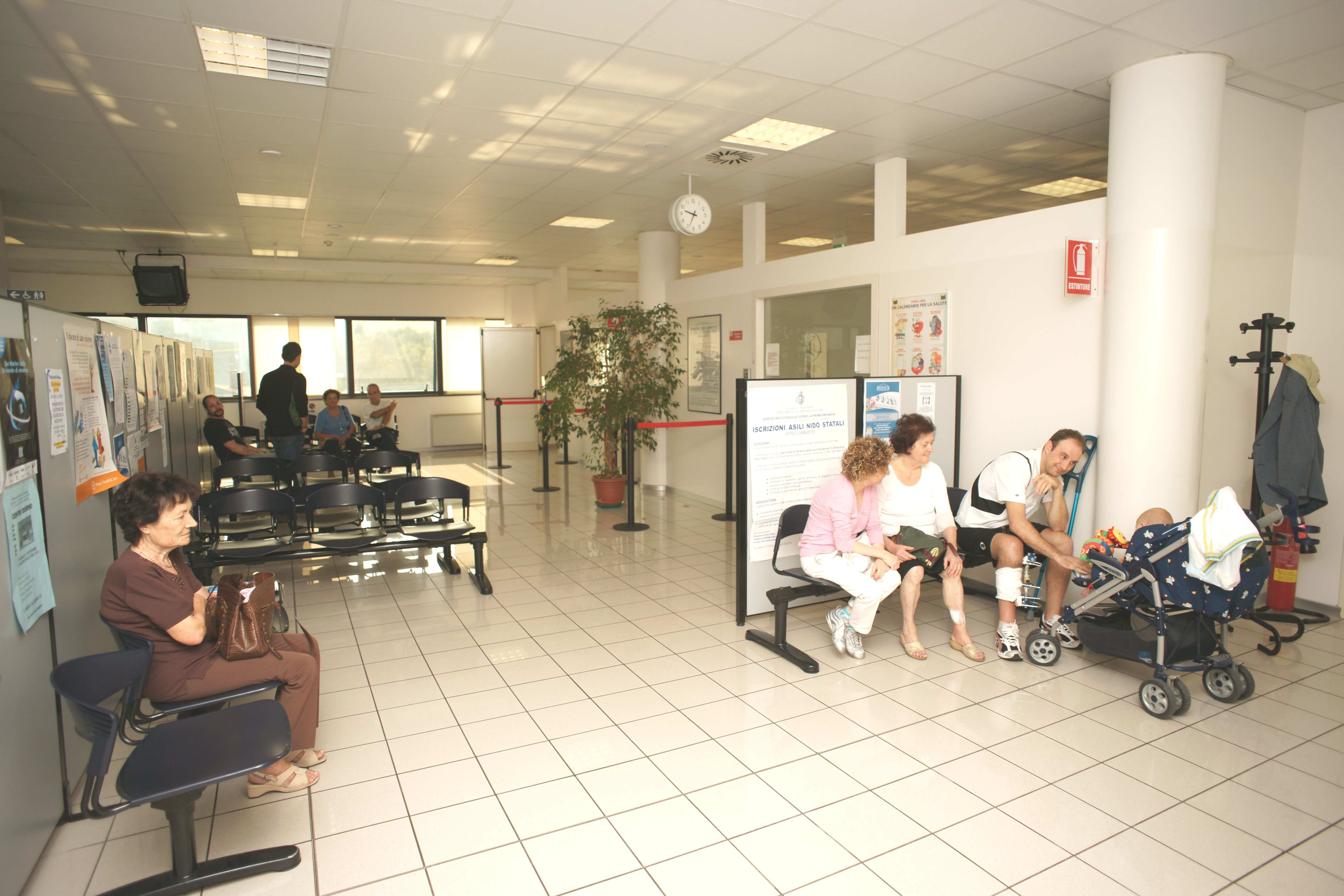 Le aperture nei giorni di festa del centro salute di Borgo