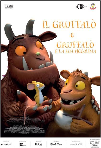 """Speciale cinema per bambini: """"Il Gruffalò"""" e """"Il Gruffalò e la sua piccolina"""""""
