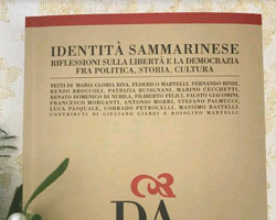 """La Dante Alighieri presenta il nuovo volume di """"Identità Sammarinese"""""""
