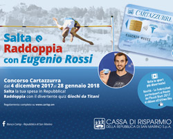 """5° estrazione del Concorso """"Salta e Raddoppia con Eugenio Rossi!"""""""