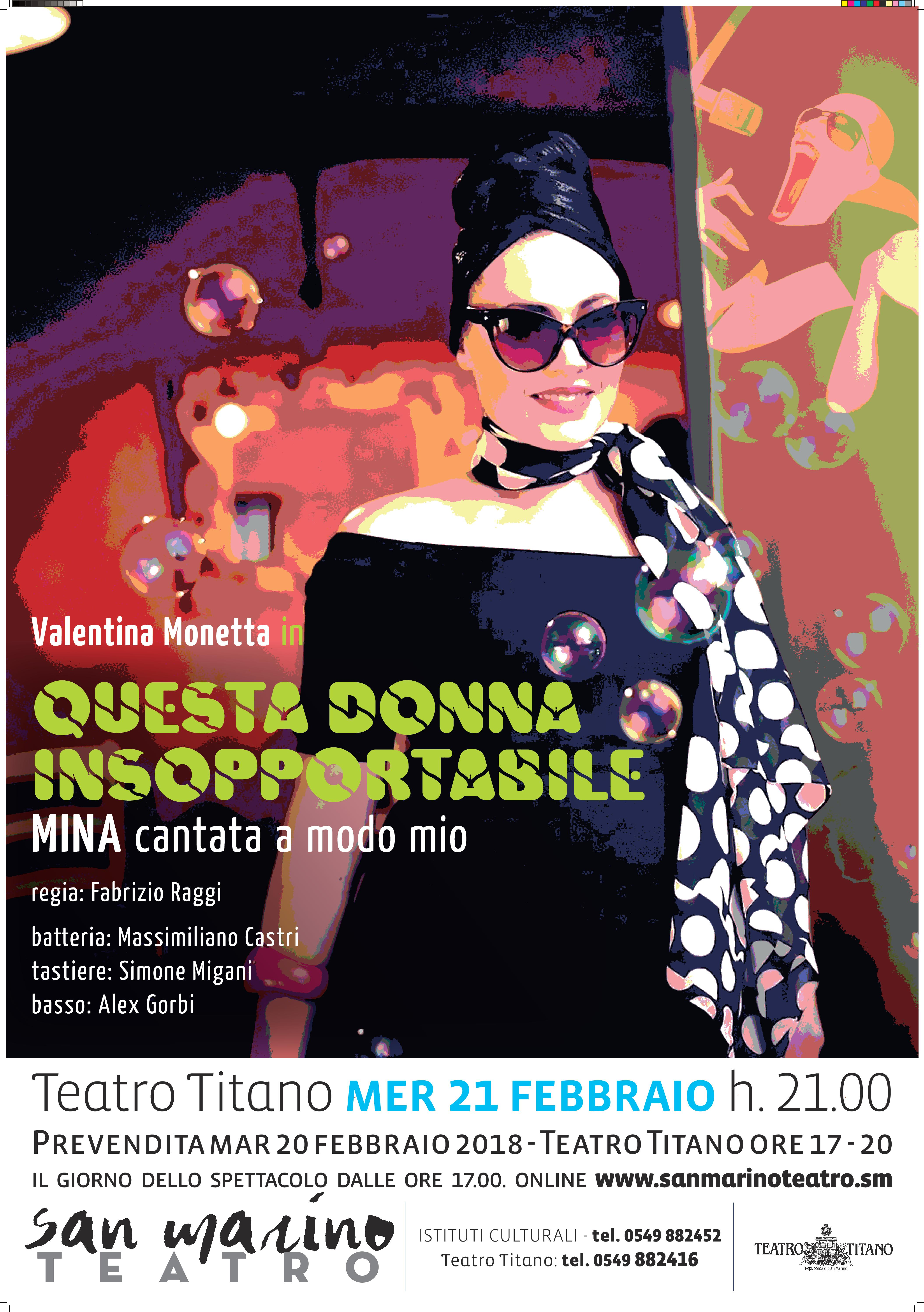 Valentina Monetta canta Mina