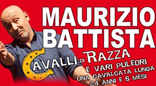 """Maurizio Battista e i suoi """"Cavalli di razza e altri puledri"""" al Nuovo"""
