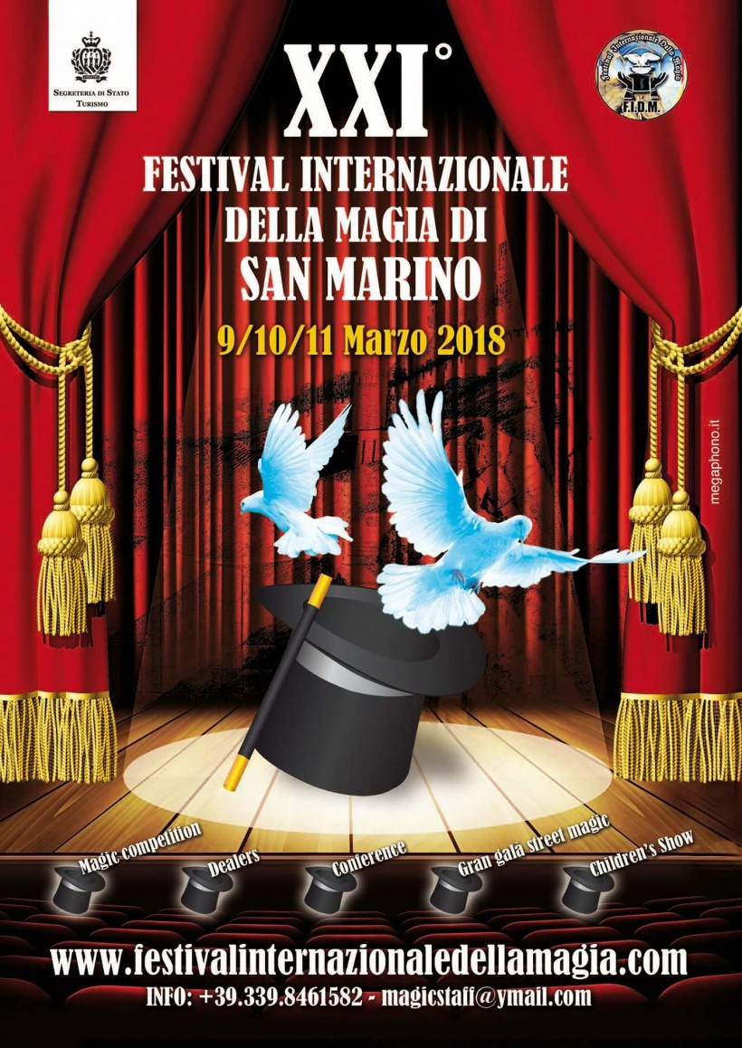 Festival internazionale della magia, presentata la 21ª edizione