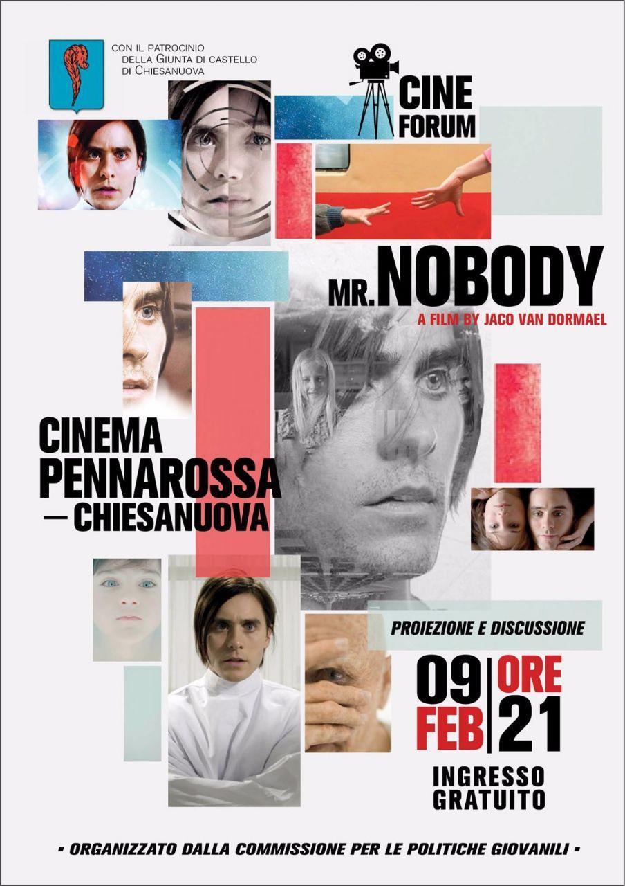 Cineforum sul tema della scelta, proiezione del film Mr. Nobody