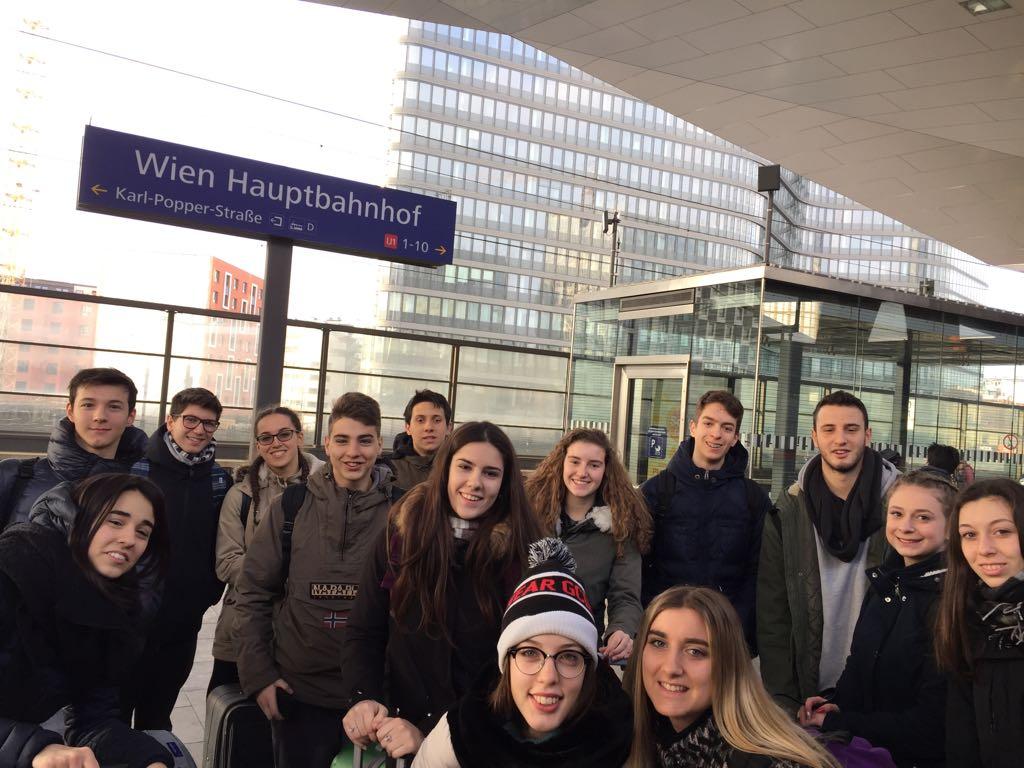 Studenti sammarinesi a Vienna