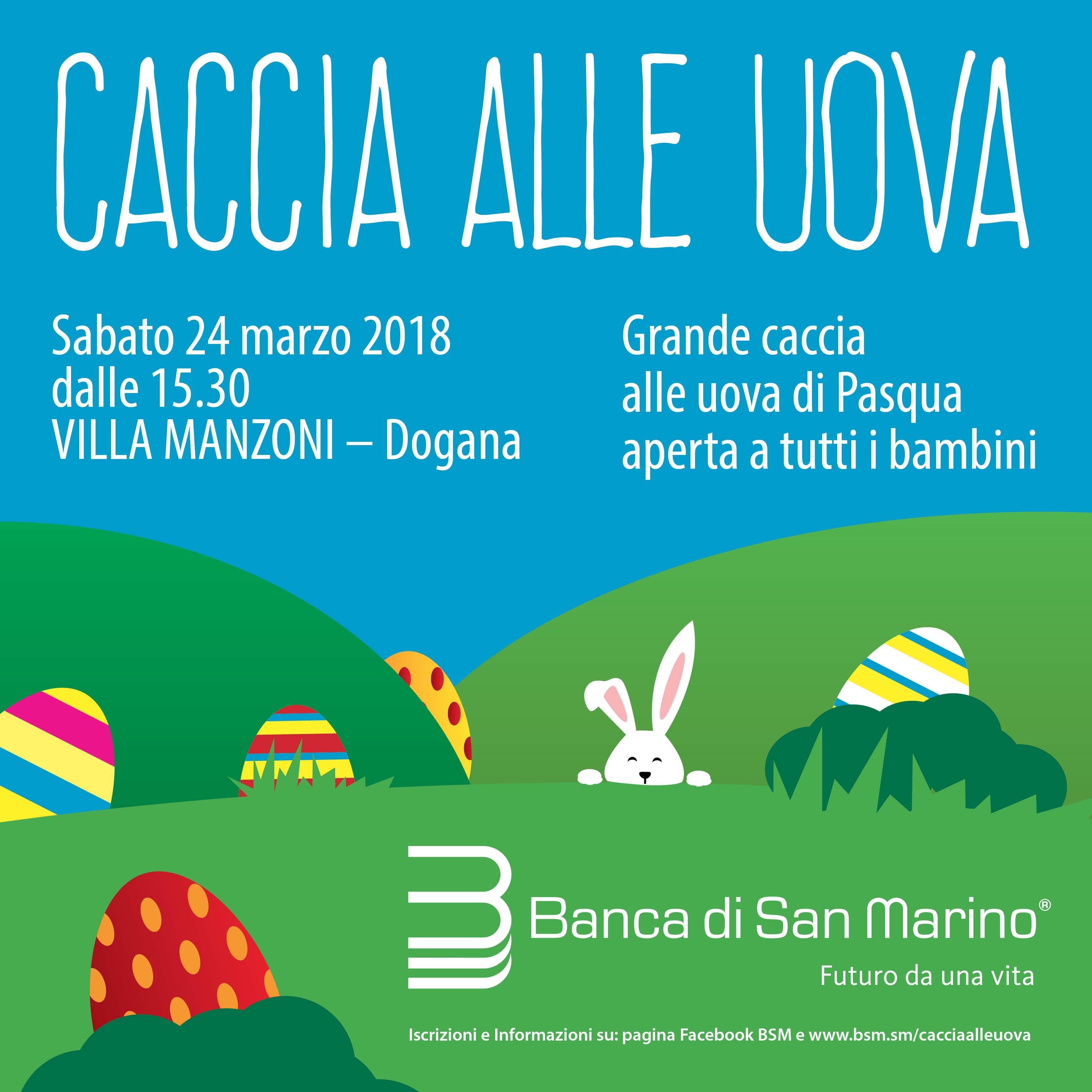 Caccia alle Uova in Banca di San Marino