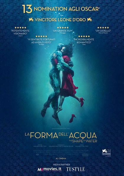 """Al Concordia arriva """"La forma dell'acqua"""""""