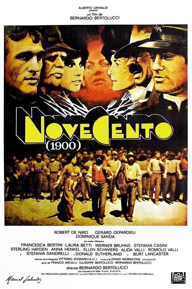"""Il cinema ritrovato riporta in sala: """"Novecento"""""""