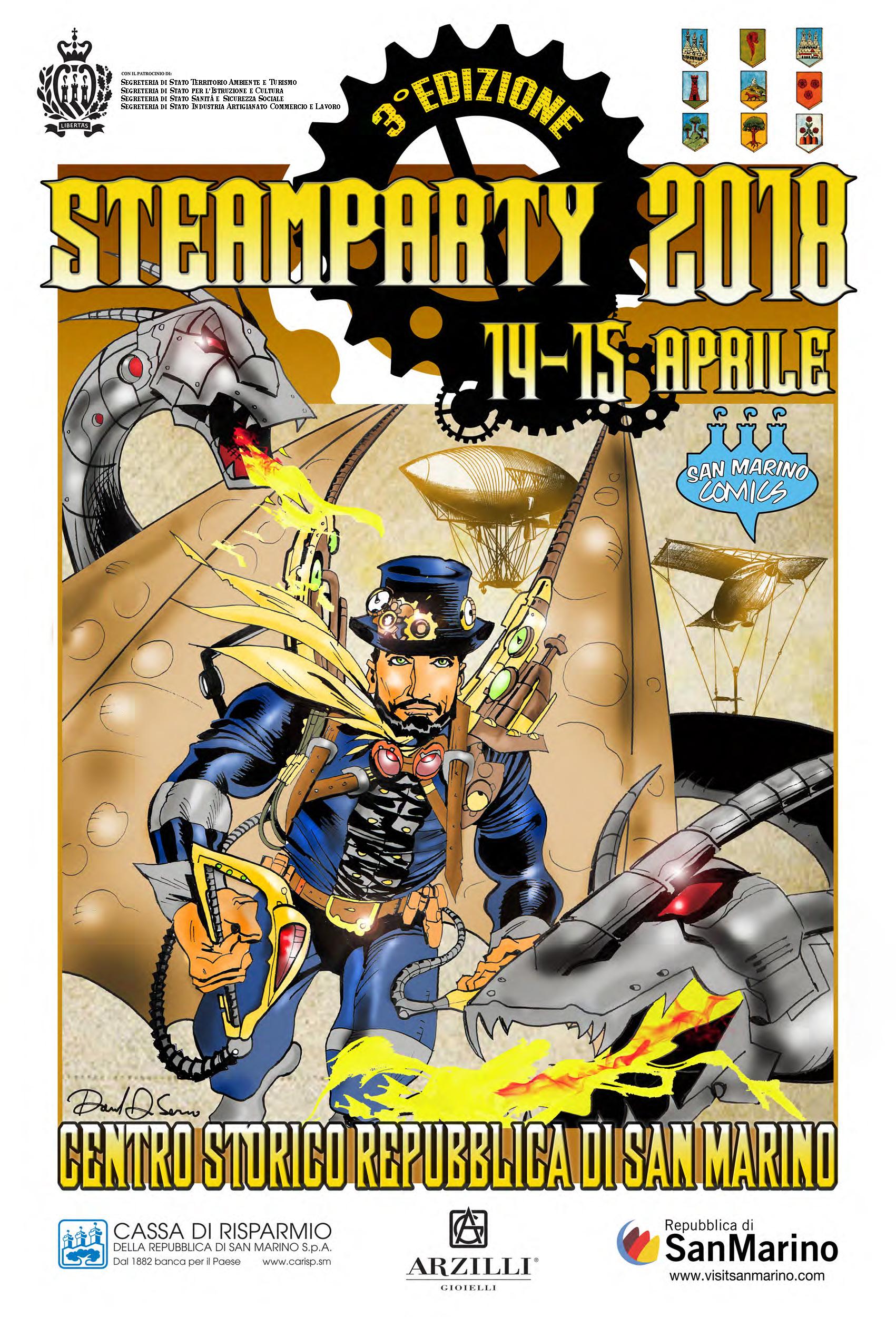 Steamparty: il festival Steampunk di San Marino