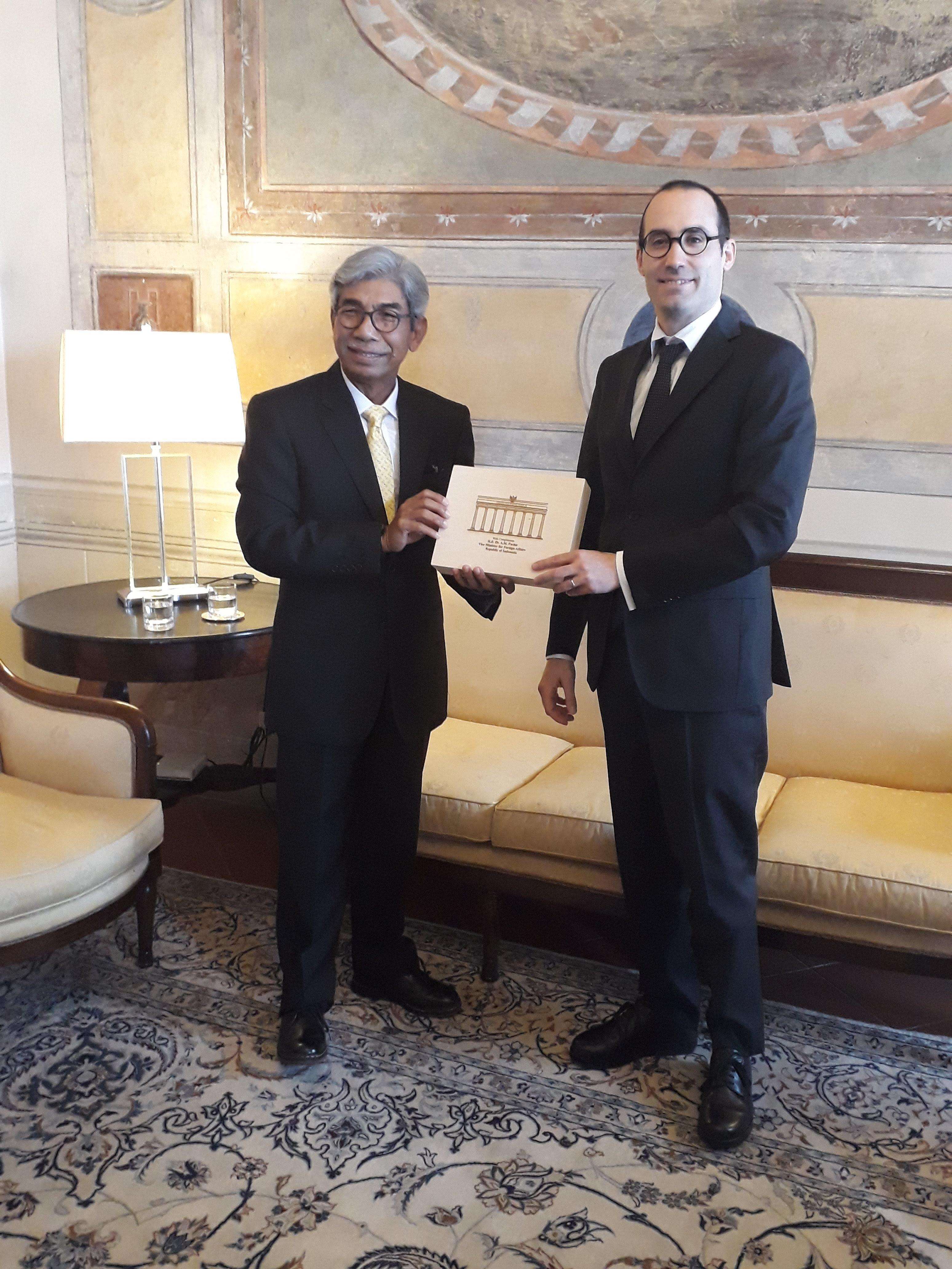 Visita del Viceministro agli Esteri della Repubblica di Indonesia