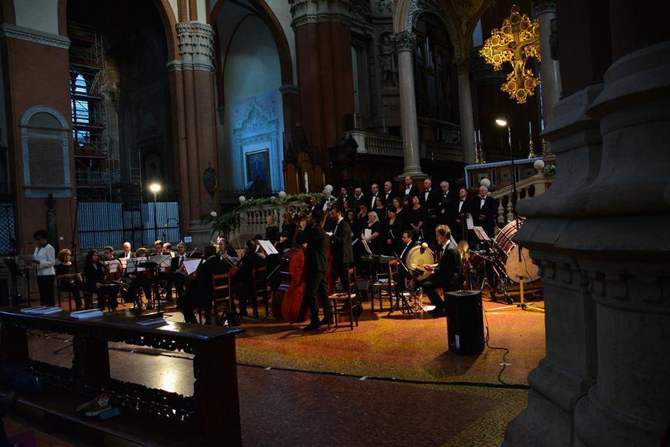 La Corale di San Marino nella Basilica di San Petronio a Bologna