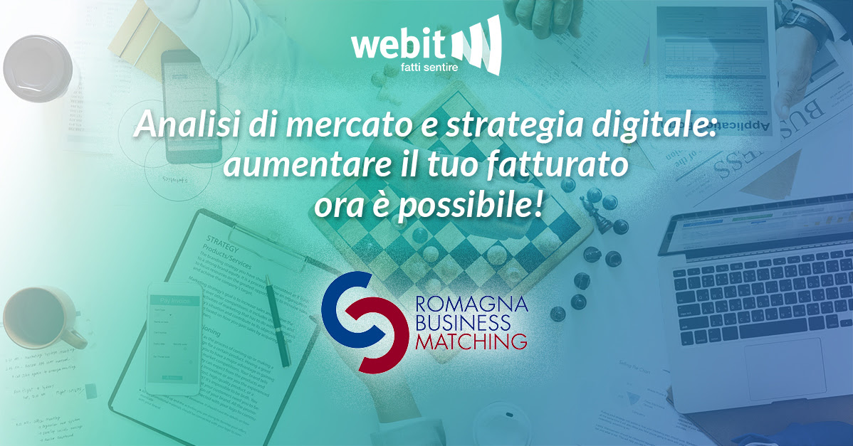 Webit protagonista della prima edizione del Romagna business matching