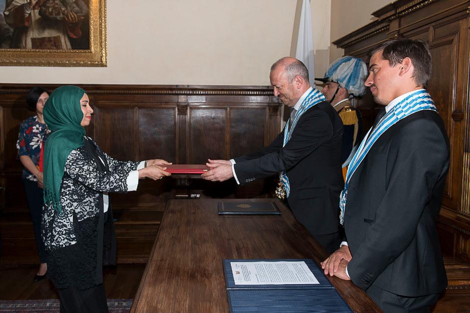 Sei nuovi ambasciatori accreditati a San Marino