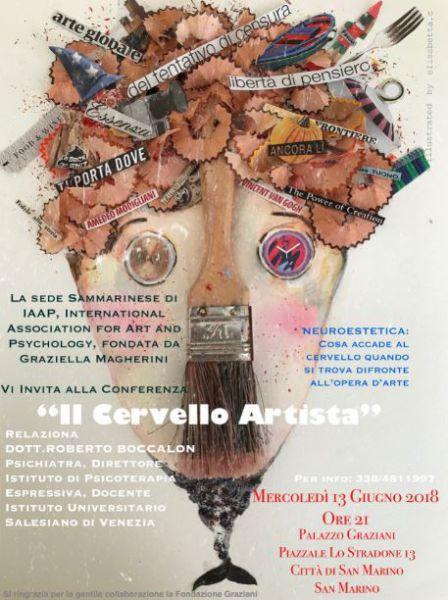 """IAAP San Marino presenta """"Il Cervello Artista!"""""""