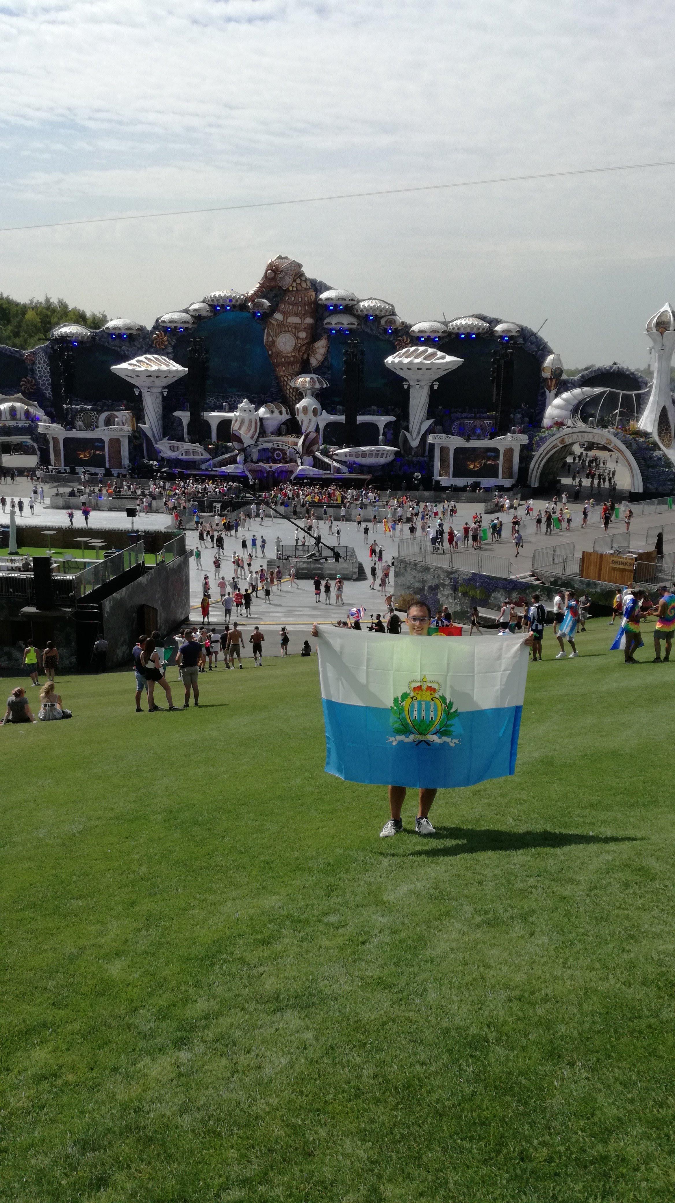 San Marino presente al festival Tomorrowland
