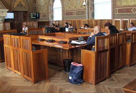 Decreto scuola: gli insegnanti a Palazzo durante i lavori della commissione