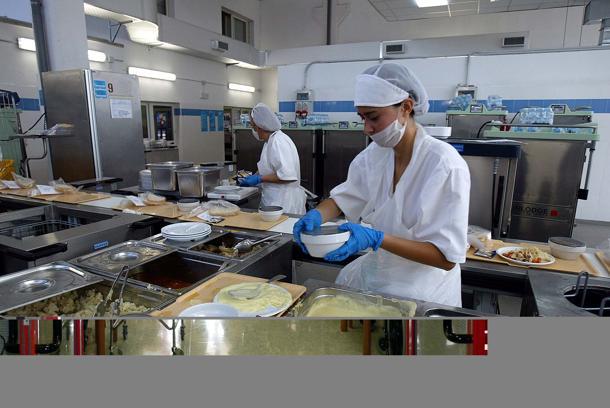 Cucine dell'ISS, si vuole andare verso l'esternalizzazione?