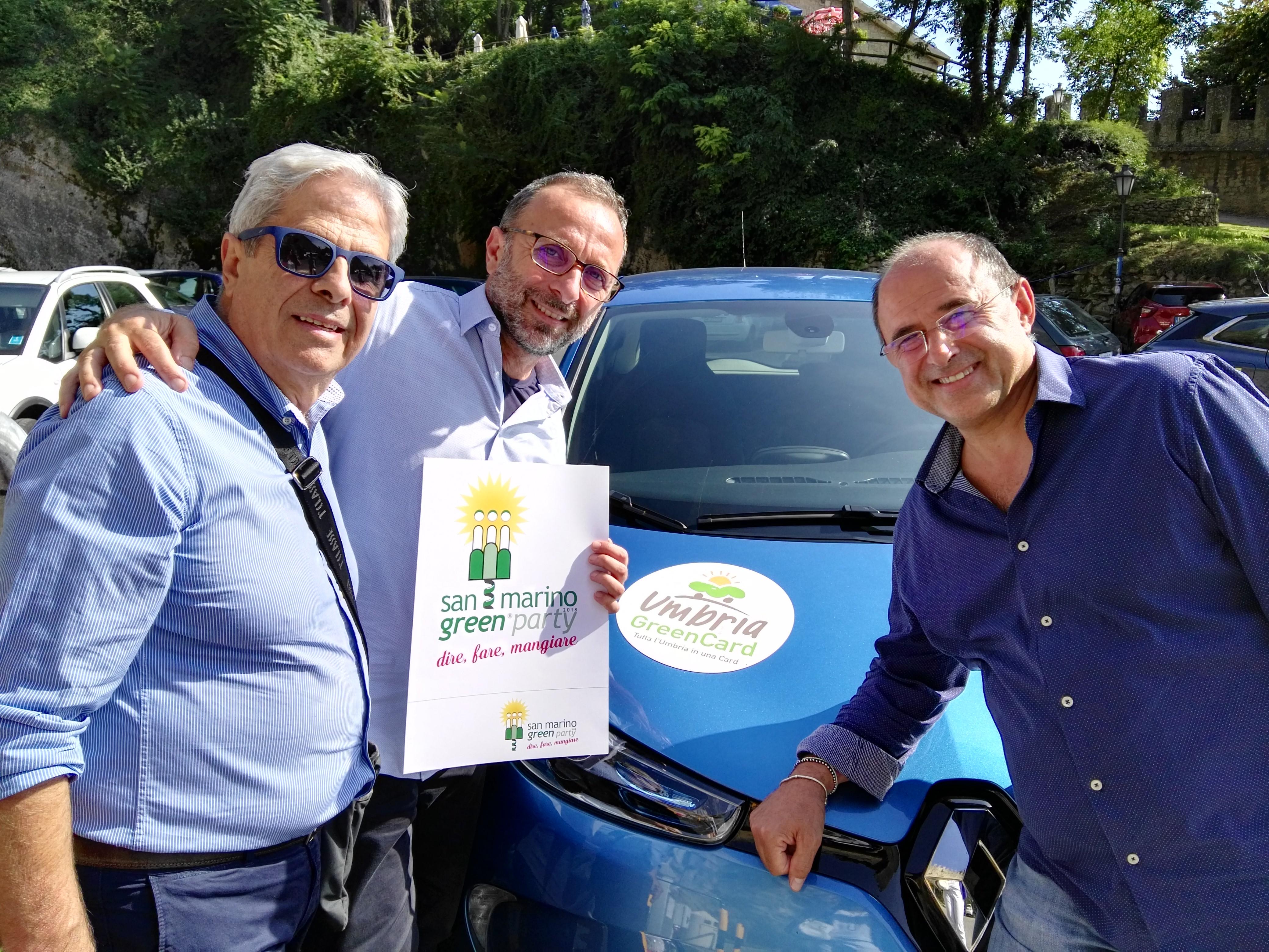Umbria e San Marino uniti nel green