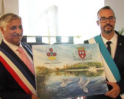 Amicizia Montegiardino-Bléré: firmato il gemellaggio
