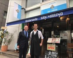 Inaugurato a Tokyo il primo ristorante sammarinese