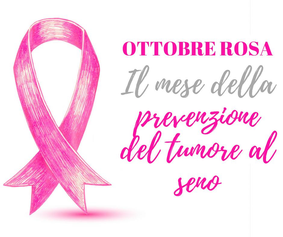#OTTOBREROSA – La prevenzione salva la vita