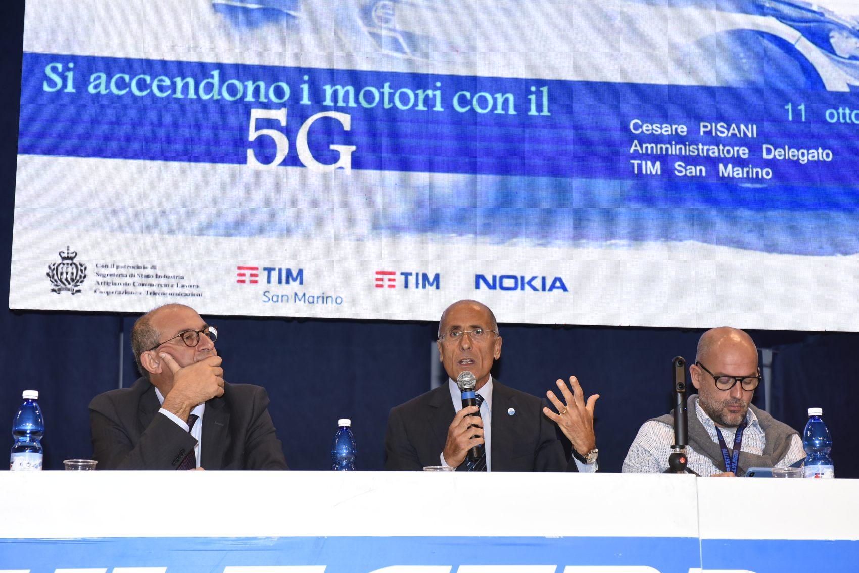 TIM con Nokia accende i motori del 5G al Rally Legend di San Marino