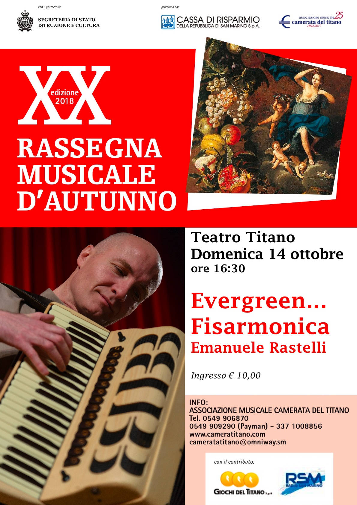 Evergreen fisarmonica… con Emanuele Rastelli