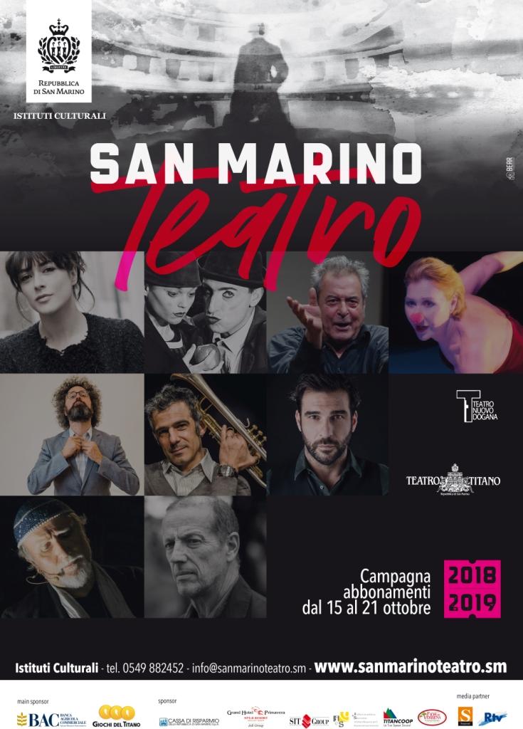 San Marino Teatro: al via la campagna abbonamenti