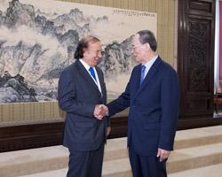 Terenzi in Cina al forum internazionale degli ex leader mondiali