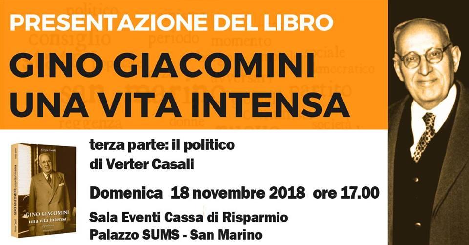 Gino Giacomini una vita intensa, la terza parte della biografia