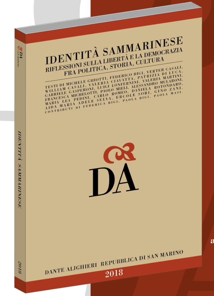"""Pronto il volume """"Identità sammarinese"""" decima Edizione"""