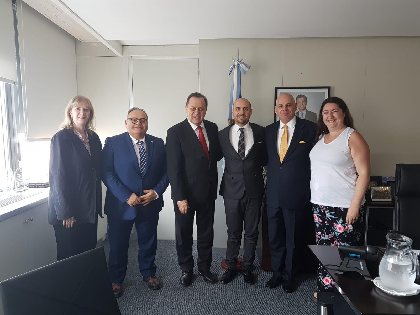 Prosegue la Missione istituzionale in Argentina del Segretario Franco Santi