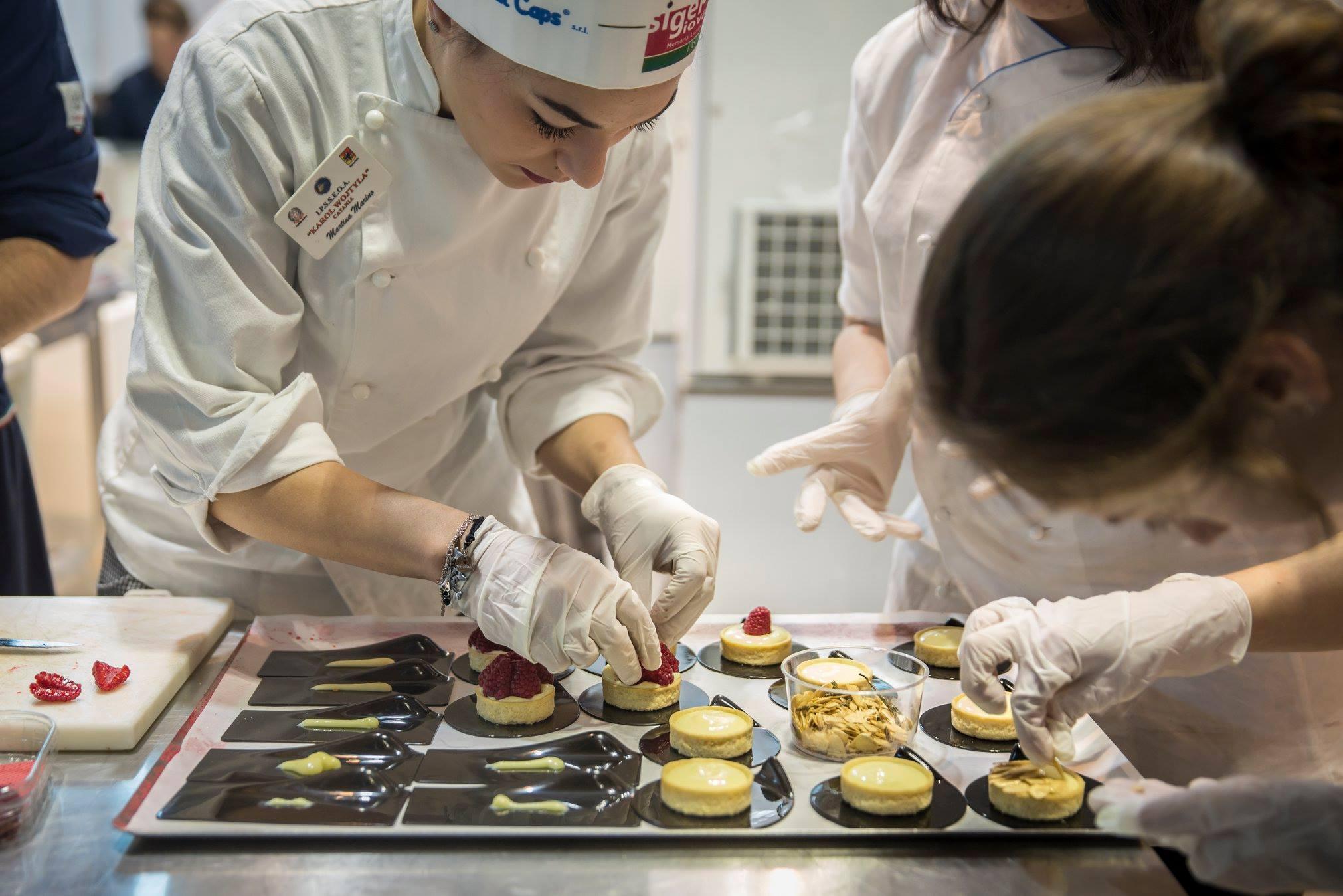 Sigep, campionato mondiale di pasticceria Juniores