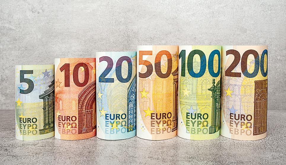 In arrivo le nuove banconote da 100 e 200 euro per la serie Europa