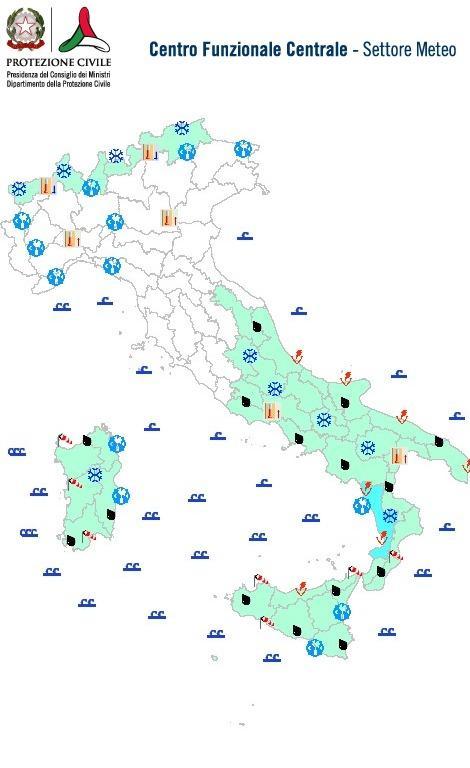 Meteo Italia : nuova irruzione artica in arrivo, tanta neve sui monti!