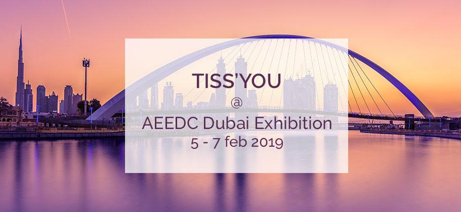 Tiss'You ancora in Medio Oriente per AEEDC