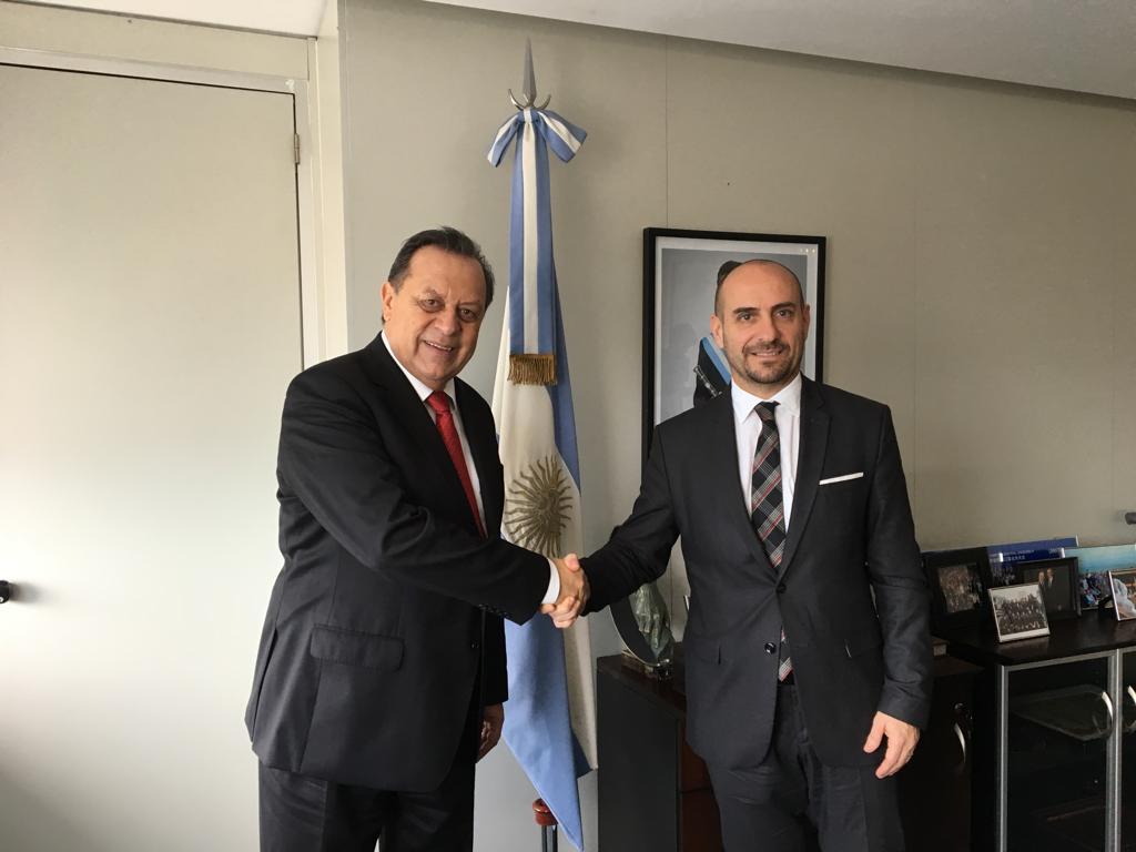 Il Segretario di Stato alla Sanità rientrato dalla visita ufficiale in Argentina