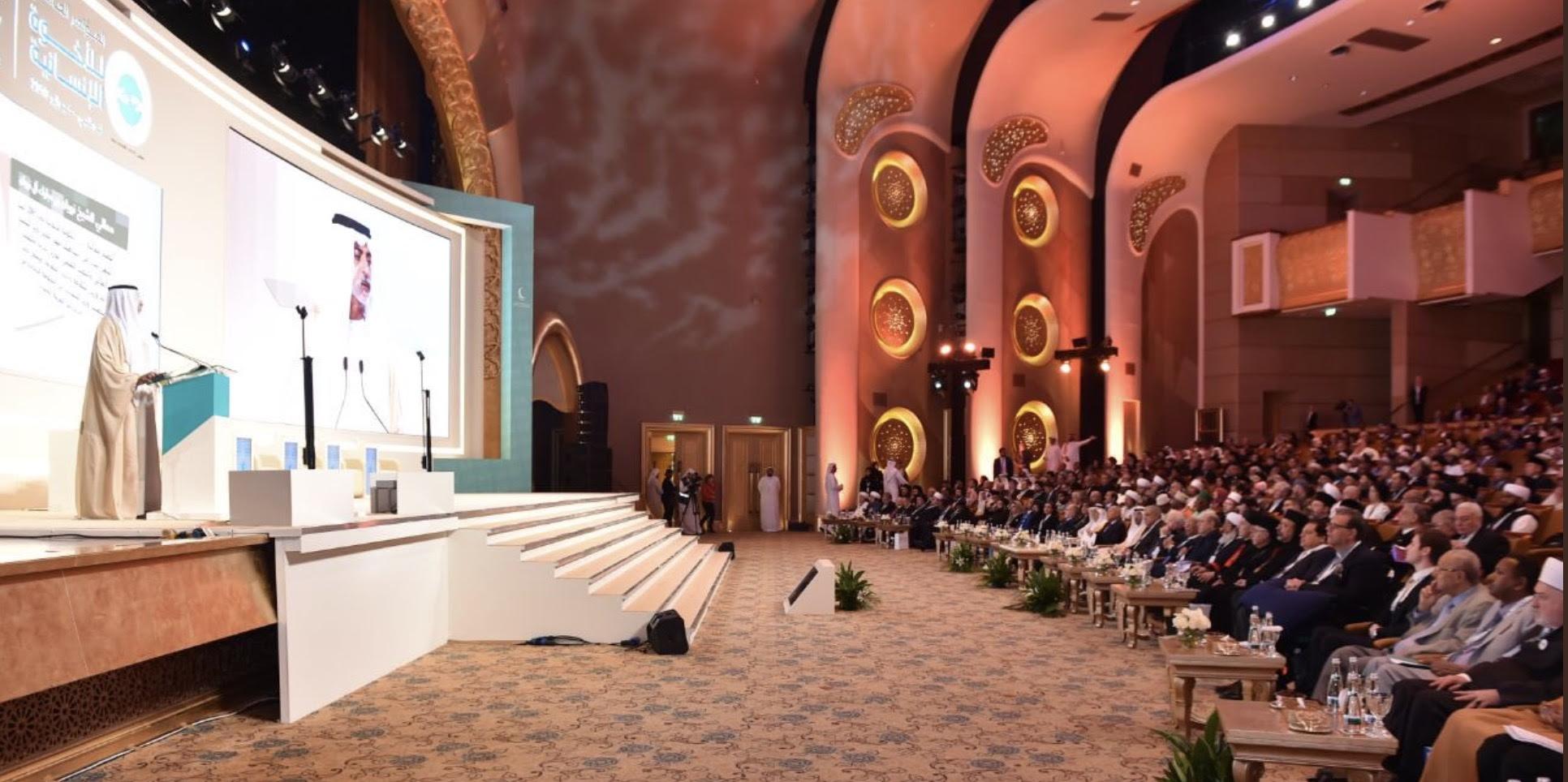 Ci sono 500 leader religiosi riuniti ad Abu Dhabi