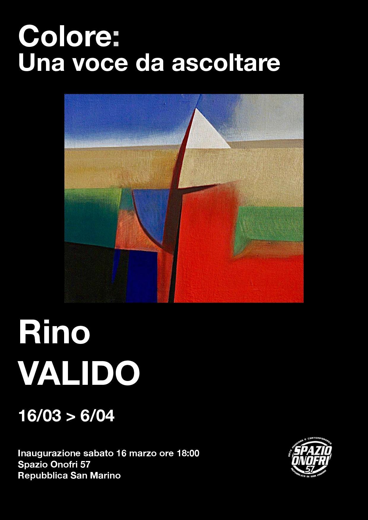 """A Spazio Onofri la mostra: """"Colore: una voce da ascoltare"""""""